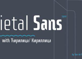 Dietal Sans Font