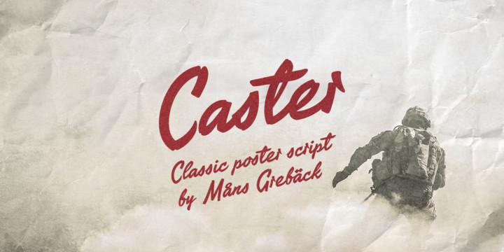 Caster Font