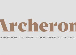 Archeron Pro Font