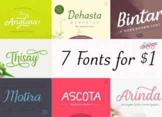 7 Gorgeous Fonts