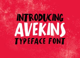 Avekins Font