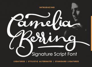 Camelia Berring Font
