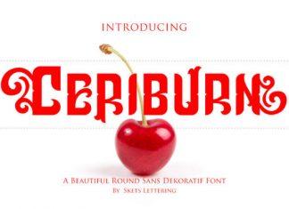 Ceriburn Font