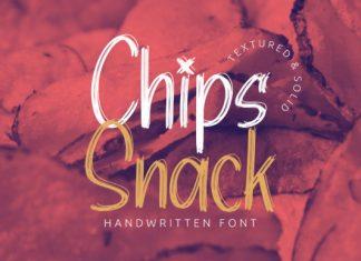 Chips Snack Font