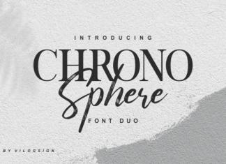 Chrono Sphere Font