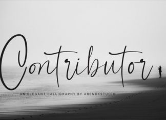 Contributor Font