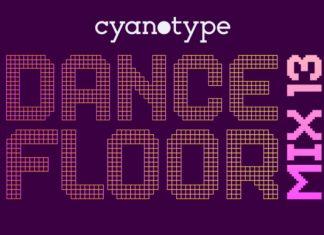 Dance Floor Mix 13 Font