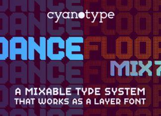 Dance Floor Mix 7 Font