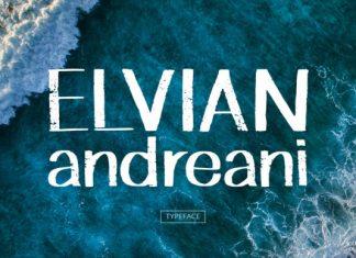 Elvian Andreani Font