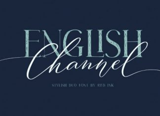 English Channel Font