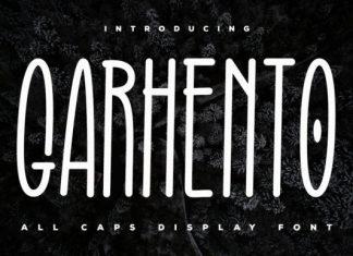 Garhento Font