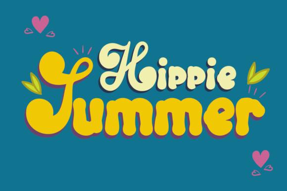 Hippie Summer Font
