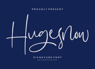 Hugesnow Font