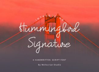 Hummingbird Font