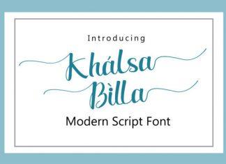 Khalsa Billa Font