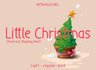Little Christmas Font