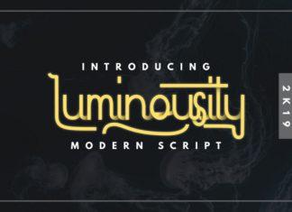 Luminousity Font