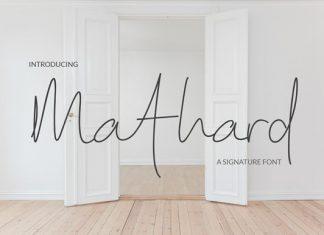 Mathard Font