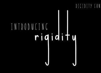 Rigidity Font