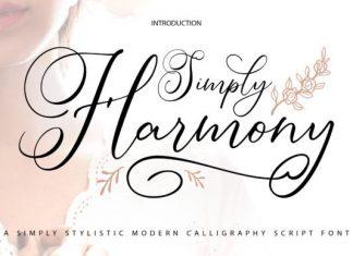 Simply Harmony Font