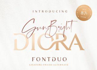 Diora Duo Font
