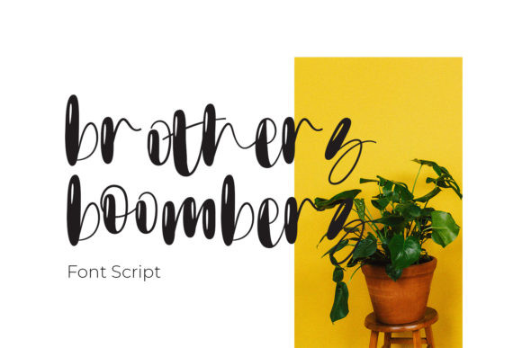 Brothers Boombers Font