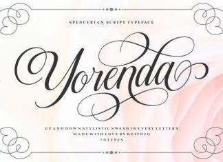 Yorenda Font