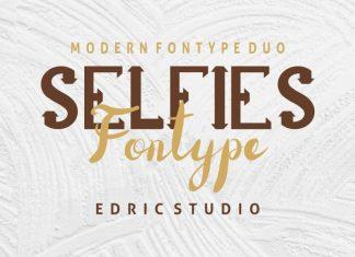 Selfies Font