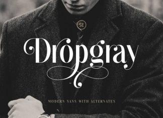 Dropgray Font