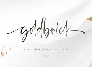 Goldbrick Font