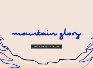 Mountain Glory Font