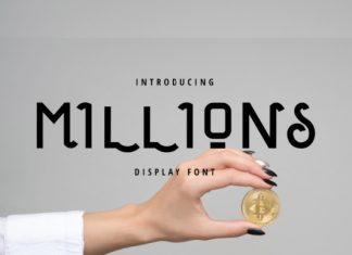 Millions Font