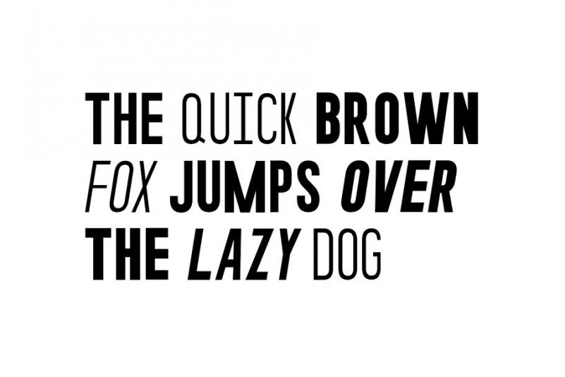 IMPULSE Font