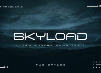 Skyload Font