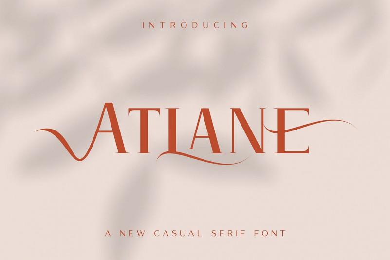 Atlane Casual Font