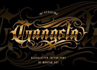 Gangsta Font