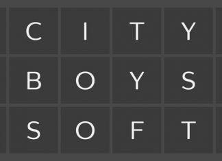 City Boys Soft Font