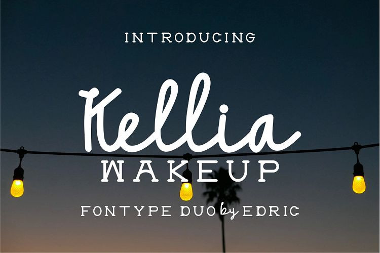 Kellia Wakeup Font