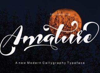 Amature Font