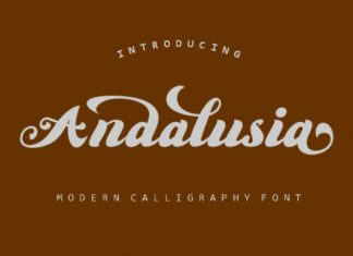 Anadalusia Font