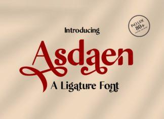 Asdaen Font