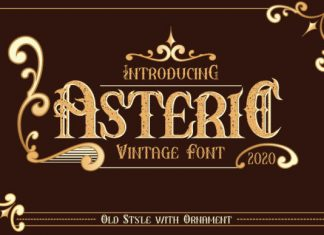 Asteric Font