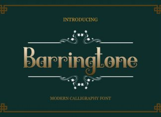 Barringtone Font
