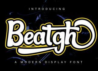 Beatgh Font