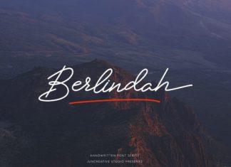 Berlindah Font