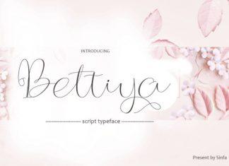 Bettiya Font