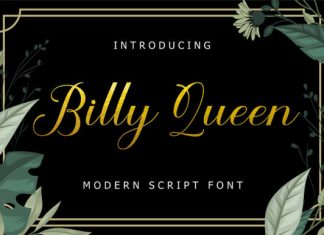 Billy Queen Font