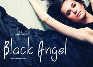 Black Angel Font