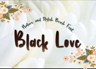 Black Love Font