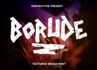 Borude Font